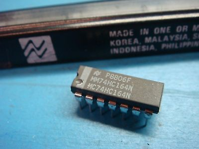 14 Nsc Mm74hc164n 74hc164 8-bit Shift Register Serial In Parallel Out 14pin Dip