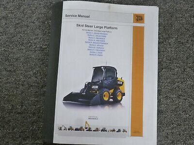 Jcb 280 300 300t 320t 330 Skid Steer Loader Shop Service Repair Manual 1745010-