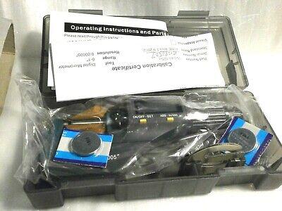 0-1 0.00005 Digital Electronic Outside Micrometer Carbide Tip 0.001mm - 25mm