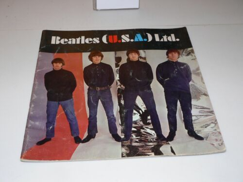 BEATLES (U.S.A.) Ltd. 1966 Vintage Original Concert Tour Program