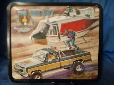 THE FALL GUY  METAL LUNCH BOX  BY ALADDIN 1981