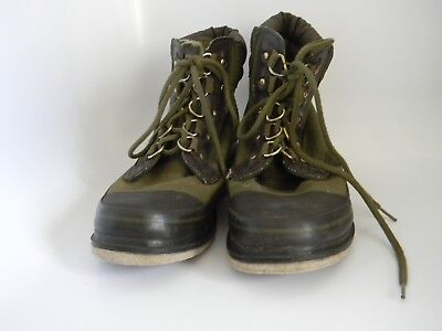 34ba0a858866f Orvis Mens Green Clearwater Wading Fly Fishing Boots with Felt Sole 2676  Size 8