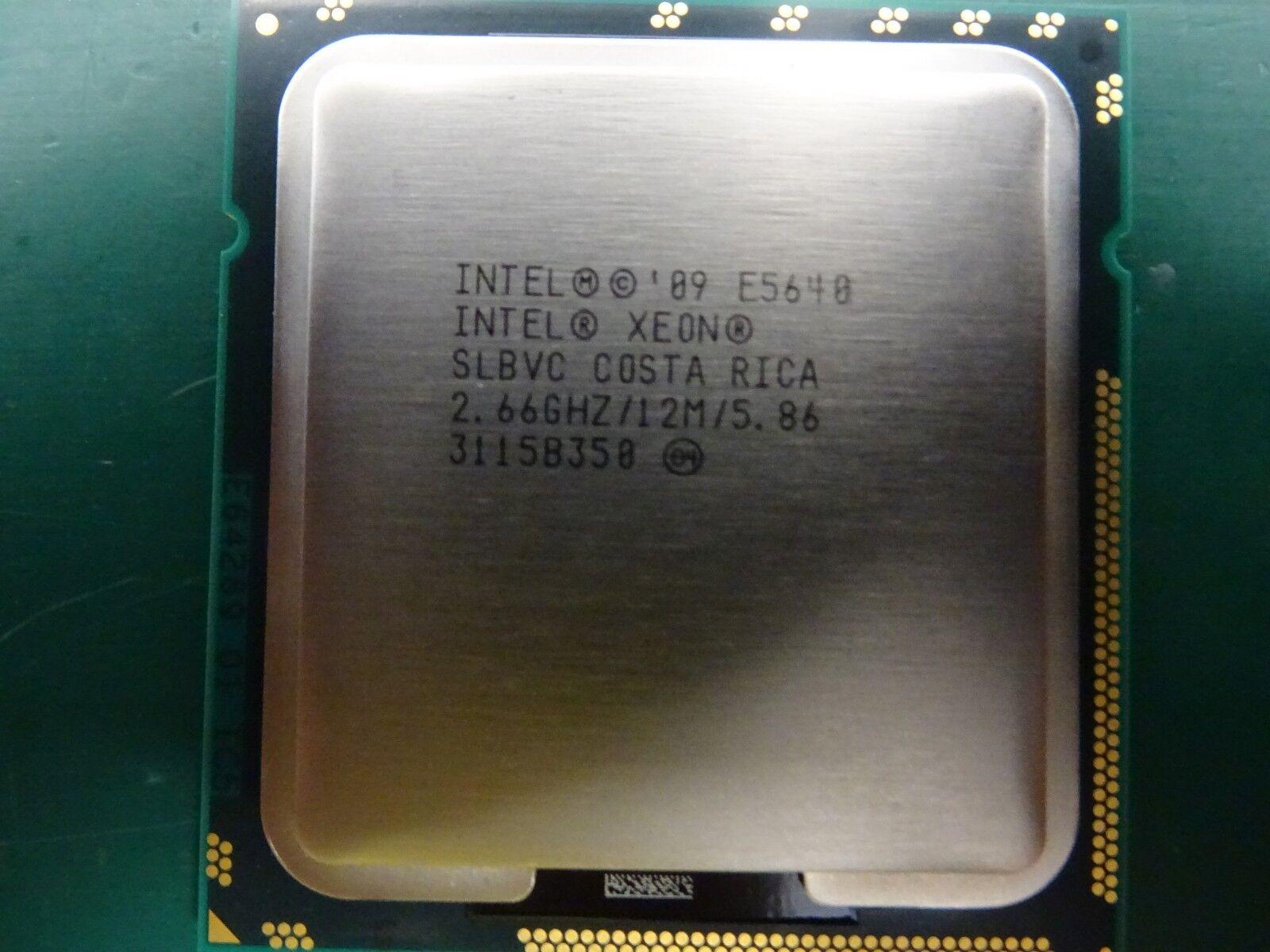 20 x Intel Xeon Processor CPU SLBVC E5640 12M Cache 2.66GHz 5.86GT//s 80w JOB LOT