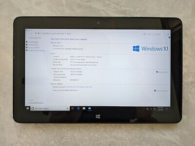 EXCELLENT Dell Venue 11 Pro 7140 Tablet Core M-5Y71 8GB RAM 128GB SSD