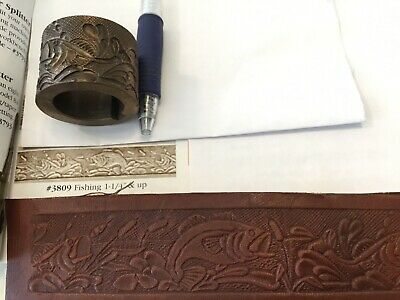 Embossing Roll # 3809 Fishing, Tandy Leather Factory