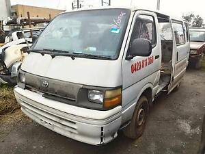 Wrecking 1995 Toyota Hiace LH113R Van Manual RWD Port Adelaide Port Adelaide Area Preview