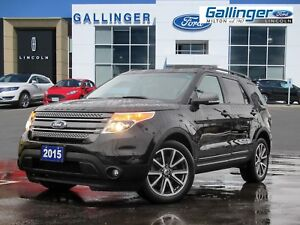 2015 Ford Explorer XLT 4WD w/DUAL PANEL ROOF, NAVIGATION, AND AP