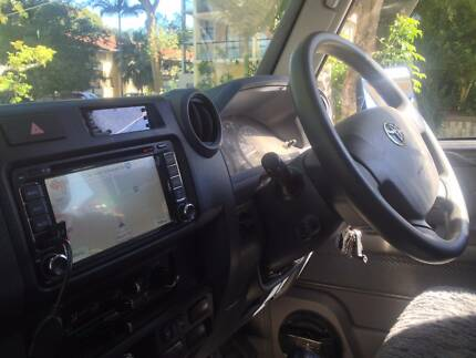 Reverse camera, parking sensors, GPS navigation, DVD, Headunit
