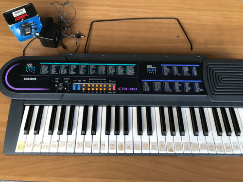 Tastiera Ctk 80 Casio 100 Toni 100 Ritmi
