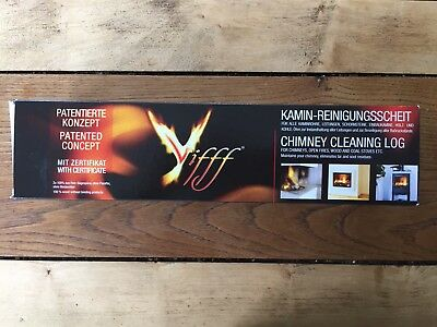 - 1 x VIFFF CHIMNEY CLEANING LOG HELPS TO REMOVE TAR/SOOT