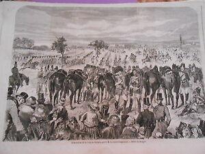 gravure 1857 distribution de la croix de victoria ebay. Black Bedroom Furniture Sets. Home Design Ideas
