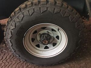 Toyota Landcruiser 4 dynamic Sunraysia 5 stud rims Gordon Moorabool Area Preview