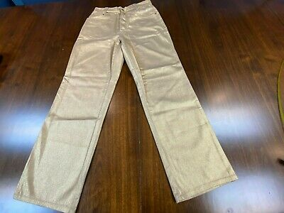 Rare Versace Gold Shimmer Jeans! Brand New Without Tags!