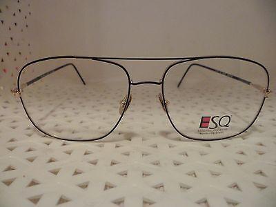 Esquire EyeWear by REM Q-201 Vintage 80's Mens Eyeglasses  (TF6)@