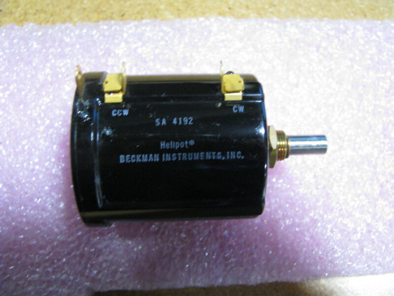 BECKMAN INSTRUMENTS VARIABLE RESISTOR # SA4192 NSN: 5905-00-755-0771