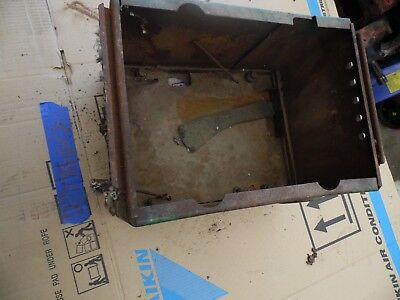 1951 John Deere A Farm Tractor Battery Box Solid