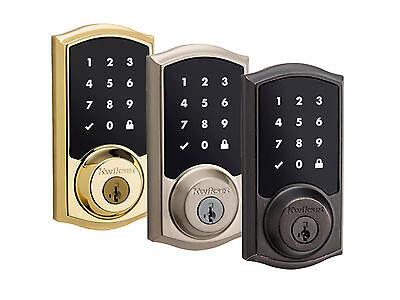 Venetian Bronze Kwikset 916 Touchscreen Electronic Deadbolt offer by BrickHouse