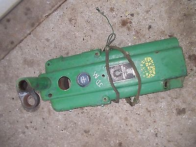 John Deere M Tractor Jd Dash Panel Gauge Wire Harness Serial Tag Steer Support