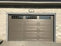 Repairs and services garage doors