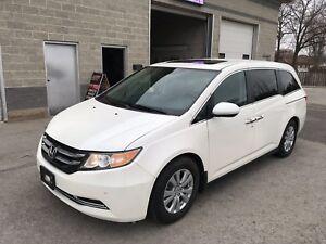 2016 Honda Odyssey EXL plus 8 passenger