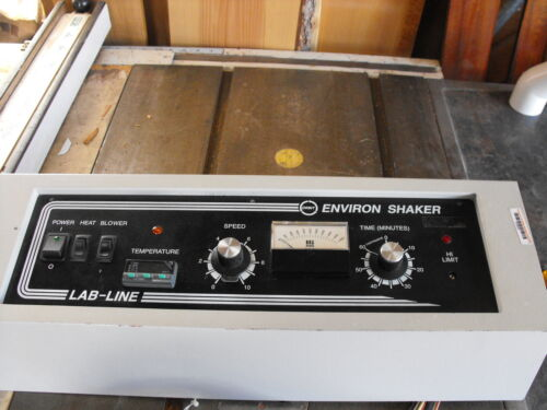 CONTROL PANEL FOR LAB LINE 3527 ENVIRON SHAKER