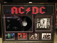 Acdc signed frame Frankston South Frankston Area Preview