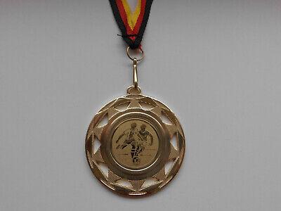 Kicker Pokal Kids Medaillen mit Deutschland-Band Turnier Emblem Pokale Fußball Pokale & Preise