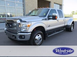 2015 Ford F-350 Lariat 6.7L V8 DIESEL, LEATHER, NO ACCIDENTS
