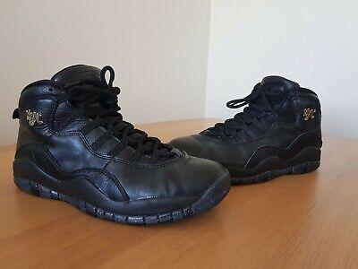 Nike Air Jordan 10 Retro New York City NYC Mens Basketball Shoes Trainers UK 8.5