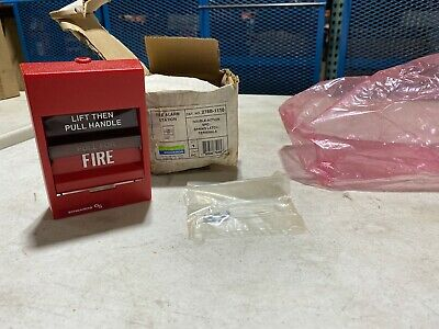 Edwards 278b-1110 Double Action Fire Alarm Pull Station Nos