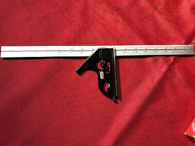 Starrett - Pn C33h-18-16r - Combination Square - 18 Square Head - Made In Usa