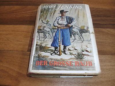 G.F. Unger -- BILLY JENKINS  # 39 // GROßE RAUB // Leibuch Uta Verlag ca 1950er