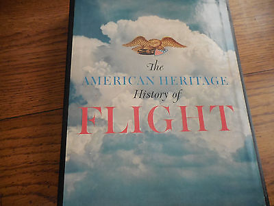 1962 The American Heritage History Of Flight  Hardcover Book With Slipcase Nice