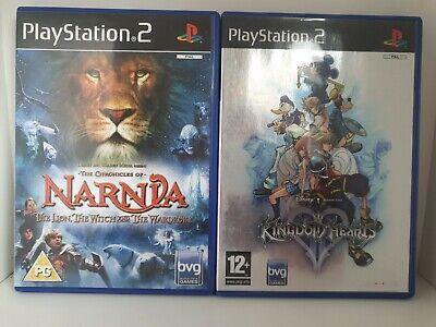 Playstation 2 Disney Game Bundle - Narnia & Kingdom Of Hearts