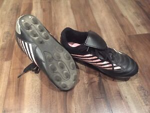 Soccer Shoes and Socks - Size 1 and 2
