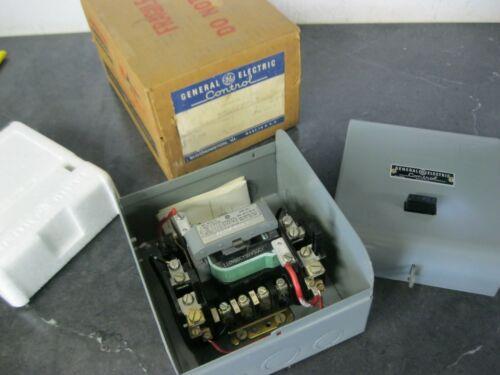 GE GENERAL ELECTRIC CR106S102 4 Pole NEMA SIZE 1 MOTOR STARTER 120 volt coil