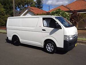 Toyota Hiace LWB 2005 Manual, A/C, P/S, Dual Fuel, Clean Van!! Lidcombe Auburn Area Preview