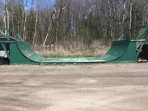 Half pipe for sale.