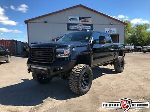 2016 GMC Sierra 3500HD SLT 6.5 inch BDS LIFT WHEEL/TIRE/BUMPER P