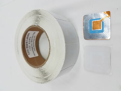 1000 PCS EAS CHECKPOINT BLANK SOFT LABEL TAG 8.2 - RF - STOP SHOPLIFTERS