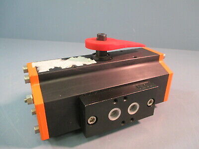 Ebro Armaturen Pneumatic Actuator Eb5.1-syd Suitable 345 In Butterfly Valve