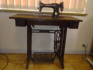 Antique Singer Sewing Machine Antiques Gumtree Australia Free Local Clifieds