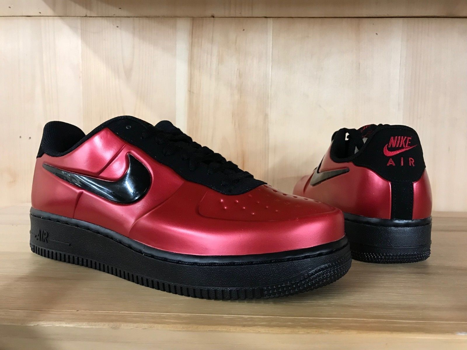 Nike Air Force 1 Foamposite Pro Cupsole gym red black Uomo |