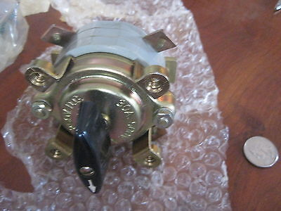 2 Pieces Rotary Switch 30 Amp 500v Ac 250 Dc 1971  New