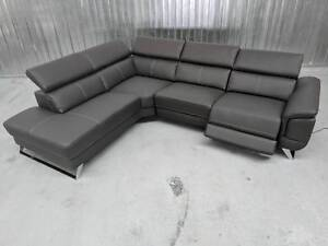 SAMUEL LEATHER CORNER LOUNGE - ELECTRIC RECLINER Dandenong South Greater Dandenong Preview