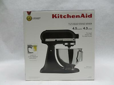 KitchenAid KSM96BM Ultra Power Plus 4-1/2 Quarts Tilt-Head Stand Mixer -Black