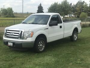 Ford F-150 XLT -- CERTIFIED -- 8 foot box & chrome rims!!