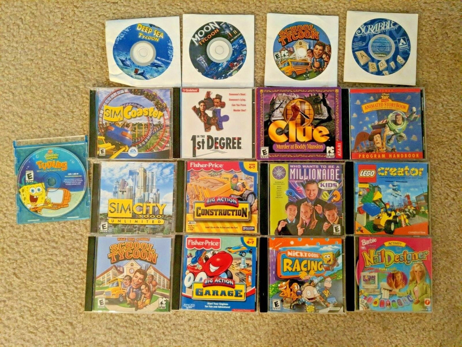 Computer Games - Lot of 17 PC - Computer games
