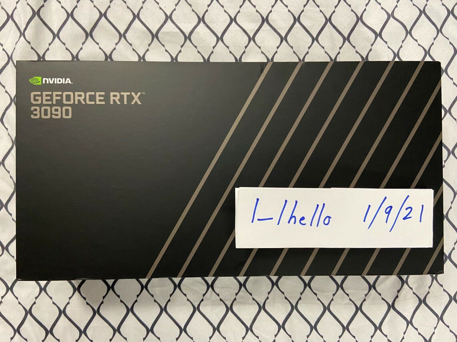 NVIDIA GeForce RTX 3090 Founders Edition In Hand - Free Priority Shipping  - $1,935.00