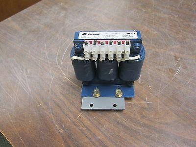 Allen-bradley 3ph Line Reactor 1321-3r2-a 2a 12mh 600v Used